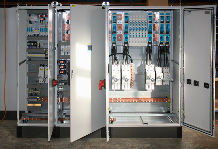 Low Voltage Main Distribution Board For A Compressor Station